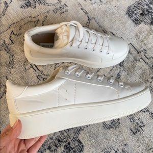 Steve Madden White Sneakers Brand New